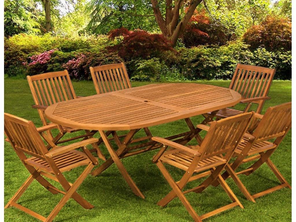 Drewniany Zestaw Dla 6 Osób
