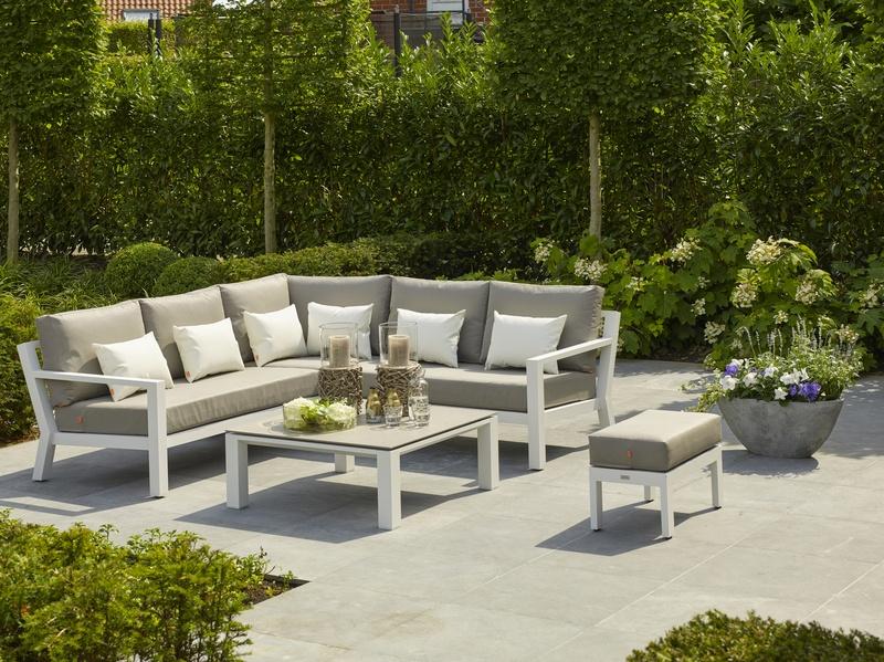 Zestaw Wypoczynkowy Timber Lounge White